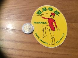 AUTOCOLLANT, Sticker «USOH - HARNES (62)» (majorette) - Autocollants
