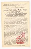 DP Asterie Flavie E. Vanden Berghe ° Ardooie 1878 † Marke Kortrijk 1931 X A. Vander Heeren - Images Religieuses