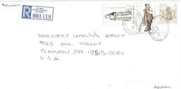 Cyprus 2000 Agios Ioannis Sheep Herder Custome Registered Cover - Cyprus (Republiek)