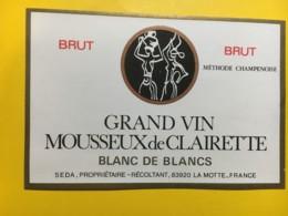 9148 - Grand Vin Mousseux De Clairette - Etiquettes