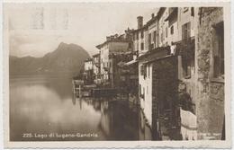 1925 Lago Di Lugano-Gandria (Ditta G. Mayr - Lugano) - TI Tessin