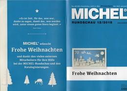 Briefmarken Rundschau MICHEL 12/2018 Neu 6€ Stamp Of The World Catalogue/magacine Of Germany ISBN 978-3-95402-600-5 - Deutsch