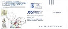 Cyprus 2000 Acropilis Olympic Games Atlanta Javelin Throw Custome Registered Cover - Cyprus (Republiek)