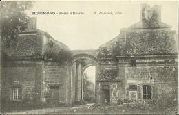 CPA De MORIMOND - Porte D'Entrée (E. Plantier, Edit.). - France