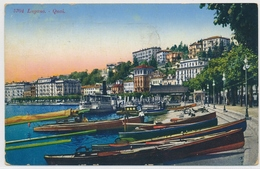 1928 Lugano - Quai (Paul Bender Zollikon-Zürich) - TI Tessin