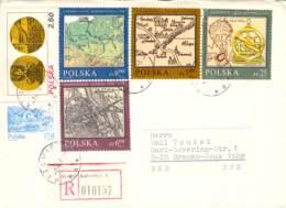 R-Brief Mit Schöner Mischfrankatur Kattowice>Bremen 1983 - Poststempel - Freistempel