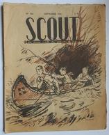 REVUE - SCOUT - LA REVUE SCOUTE DES GARCONS DE FRANCE - N°166 - SEPTEMBRE 1941 - ILLUSTRATION : JOUBERT - Scoutisme