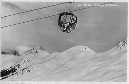 VERBIER → Téléstège De Médran, Fotokarte 1956 - VS Valais