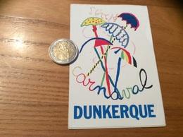 AUTOCOLLANT, Sticker  « Carnaval DUNKERQUE (59)» (parapluie) - Autocollants