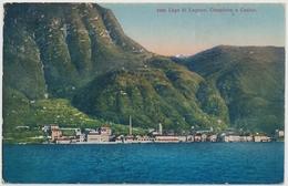 1932 Lago Di Lugano Campione E Casino - TI Tessin