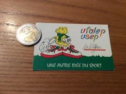 AUTOCOLLANT, Sticker  «ufolep - Usep - La Ligue - UNE AUTRE IDÉE DU SPORT» - Autocollants