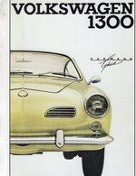 Volkswagen Karmann Ghia 1300    -  Publicite D'epoch  -  CPM - Voitures De Tourisme