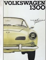 Volkswagen Karmann Ghia 1300    -  Publicite D'epoch  -  CPM - Passenger Cars