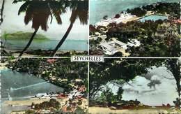 SEYCHELLES - Carte Multi-vues. - Seychelles