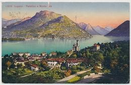 1923 Lugano - Paradiso E Monte Brè - TI Tessin