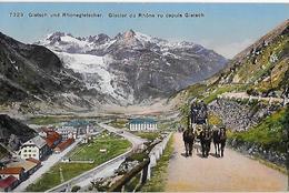 GLETSCH → Furkapost Oberhalb Gletsch Anno 1918   ►RRR◄ - VS Valais