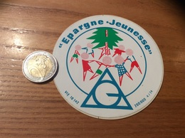 AUTOCOLLANT, Sticker «Epargne Jeunesse» - Autocollants