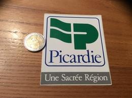 AUTOCOLLANT, Sticker «Picardie - Une Sacrée Région» - Autocollants