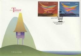 Timor Lorosae - UNTAET FDC 200.04.29 - East Timor