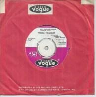 """45 Tours SP - MICHEL POLNAREFF - VOGUE 7019 -  """" LOVE ME PLEASE LOVE ME """" + 1 ( ANGLETERRE ) - Vinyles"""