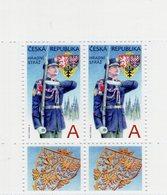 Czech Republic - 2018 - The Castle Guard - Mint Booklet Pane With Tabs - Tchéquie
