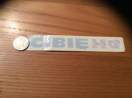 AUTOCOLLANT, Sticker Inversé « CIBIÉ» (Accessoire Automobile) - Autocollants