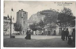 Un Saluto Da Monselice (Padova). Piazza Ossicella. - Padova (Padua)