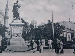 Romania Roumanie Cpa Postcard  - 1902 Salutari Din CONSTANTA - Piata Ovidiu - Roumanie