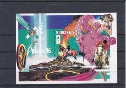 Burkina Faso 1996 Atlanta Olympic Games Souvenir Sheet MNH/** (M43) - Sommer 1996: Atlanta