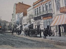 Romania Roumanie Cpa Postcard  - Salutari Din CONSTANTA - Piata Indepenentei - Shop Front - Roumanie