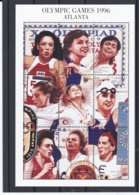 Guyana 1996 Atlanta Olympic Games Souvenir Sheet MNH/** (M43) - Sommer 1996: Atlanta
