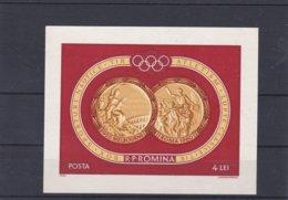 Romania 1960 Rome Olympic Games Souvenir Sheet MNH/** (M43) - Sommer 1960: Rom