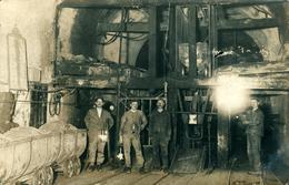 Au Fond De La Mine (Mines De Potasse  Non Localisée Il Semblerait Théodore ?) Carte écrite De Ruelisheim - Otros Municipios