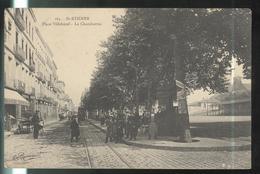 CPA Saint Etienne - Place Villeboeuf - Le Charabarras  - Circulée 191X - Saint Etienne