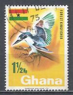 Ghana 1967. Scott #287 (U) Forest Kingfisher, Bird * - Ghana (1957-...)