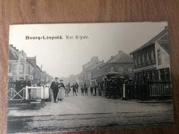 Beverloo Burg Léopold Rue Royale - Guerre 1914-18