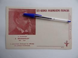 BUVARD Les GRANDS PHARMACIENS FRANCAIS E.BOURQUELOT 1891 1907 Pharmacie Pharmacien - Produits Pharmaceutiques