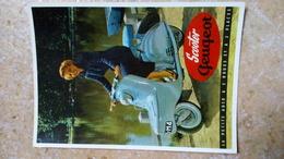 CPM. - MOTOS - SCOOTER PEUGEOT  - éditions Du Centenaire Illustration - MOTO - - Advertising