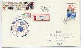 CZECHOSLOVAKIA 1984 UPU Anniversary  On FDC.  Michel 2772 - FDC