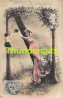 CPA PHOTO MONTAGE SURREALISME LETTRE ALPHABET N RPPC REAL PHOTO POSTCARD - Photographie