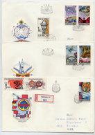 CZECHOSLOVAKIA 1984 Intercosmos Programme  On 3 FDCs.  Michel 2758-62 - FDC