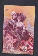 Prix Fixe Nancy Exposition Internationale De L'Est De La France ( Ill. H. Dardenne Art Nouveau Chardon Alsace Lorraine ) - Nancy
