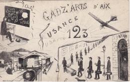 CPA 13 - ILLUSTRATEUR - Ecole Des Arts Et Métiers Gadz'arts D'Aix - FUSANCE - Ecoles