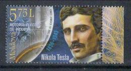 Moldawien 'Elektromotor, Nikola Tesla' / Moldova 'Electric Motor, Nikola Tesla' **/MNH 2018 - Physik