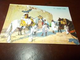 B703  Cavaliere Arabo Cm14x9 Non Viaggiata - Arabie Saoudite