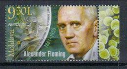 Moldawien 'Penicillin, Alexander Fleming' / Moldova 'Penicillin, Alexander Fleming' **/MNH 2018 - Medizin