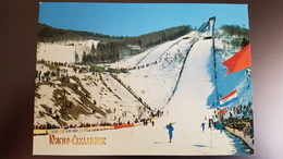 Ski Jumping - The Hill In Sakhalin Island - Old Soviet PC - Ski - Skiing 1980s - Wintersport