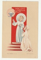 Plechtige Communie Helena BRENDERS Parochiekerk H. Familie Elsdonck- Edegem 1944 Imalit Maredret A.P. 56 - Images Religieuses