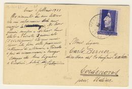 Savonarola Isolato Usato Da Como  (vedi Descrizione) 1 Immagine - Storia Postale