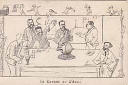 CPA 13 - ILLUSTRATEUR - Ecole Des Arts Et Métiers D'Aix  - La Course Au Z'Accu - Ecoles